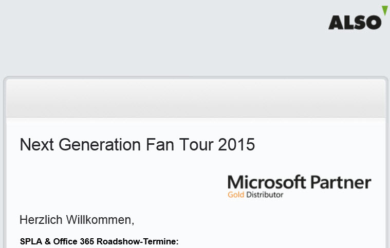 Next Generation Tour 2015