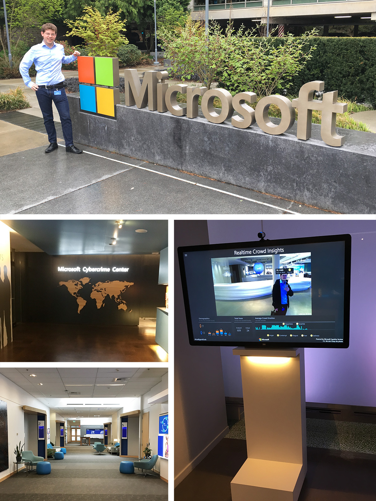 aConTech zu Besuch im Microsoft Headquarter Redmond