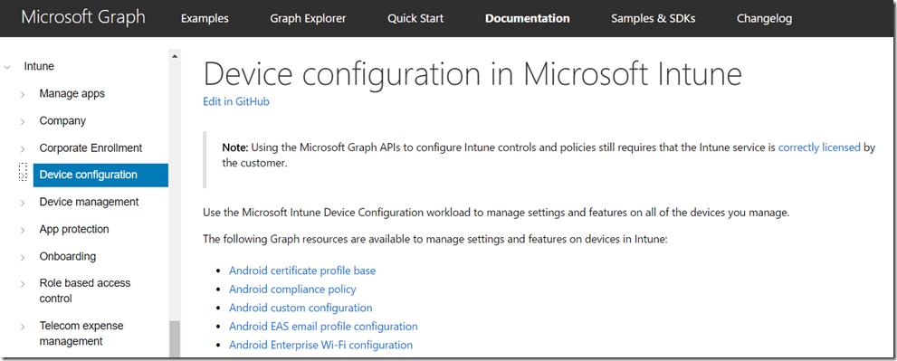 Gerätekonfiguration mit Microsoft Intune