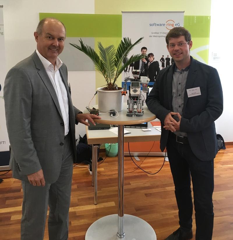 aConTech auf dem Unternehmerdialog Digitalisierung 2017 in Nürnberg