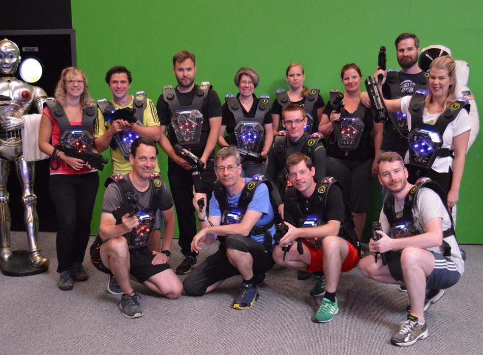 aCOnTech Laser Tag Teamevent