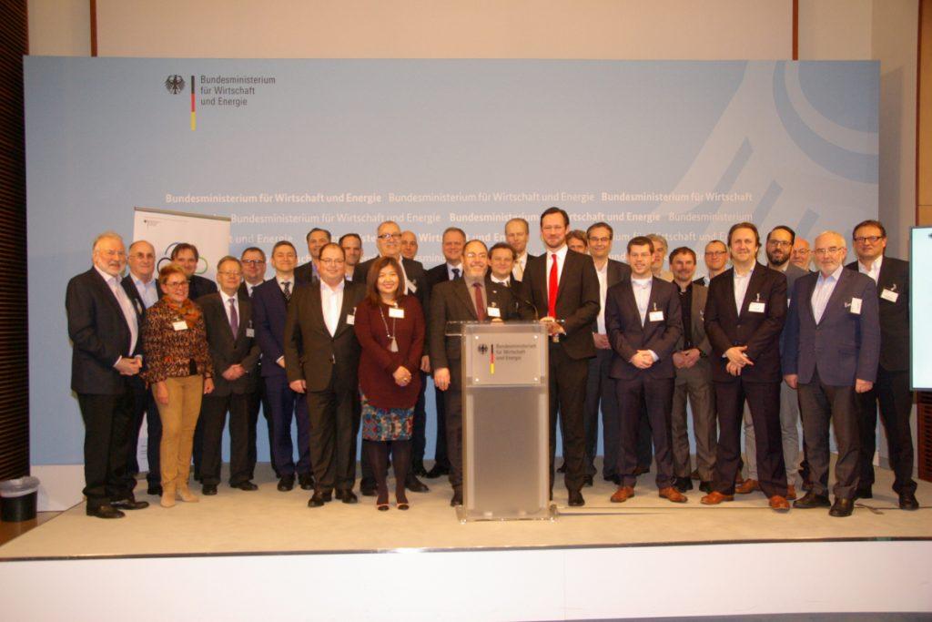 Teilnehmer der Trusted Cloud Lounge beim BMWi