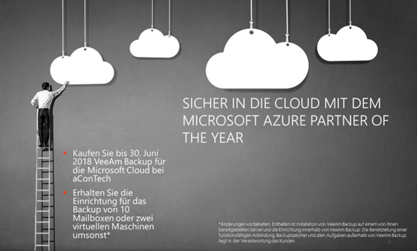 Angebot Veeam Backup für die Microsoft Cloud
