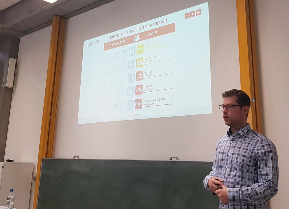 aConTech Stefan Zenkel Gastvortrag an der FAU