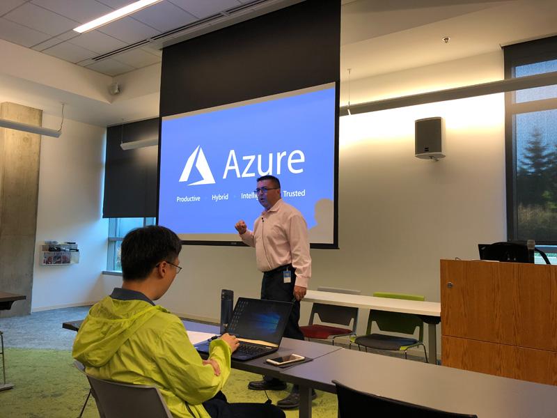 Keynote von Jeff Woolsey zum Thema Windows Server und Windows Admin Center