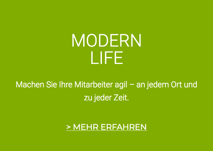 Modern Life – Collaboration