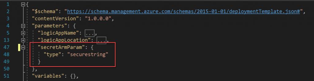 ARM Parameter definieren