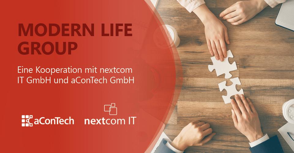 aConTech Kooperation mit nextcom IT GmbH
